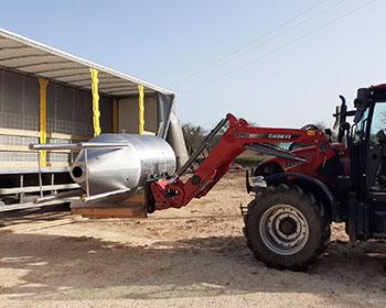 fermenteur avec tracteur