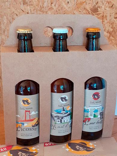 coffret de 3 bières de 33 cl